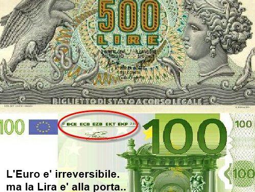Non potremo piu' uscire dall'euro! Vi hanno fregati, come sempre …