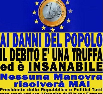 Il debito pubblico Italiano!