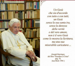 Benedetto XVI e Gesu'