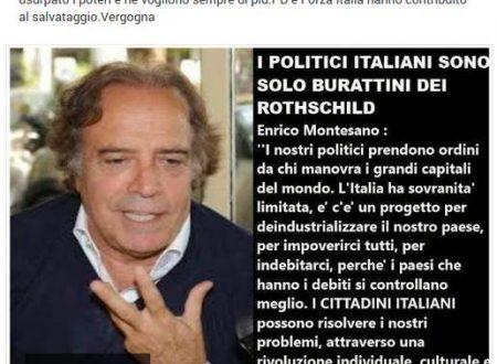 I politici Italiani burattini dei Rothschild